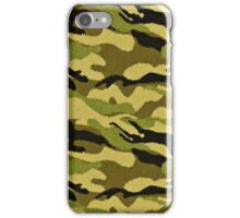 Camouflage Print iPhone Case/Skin