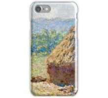 Claude Monet - Haystacks, end of Summer (1891)  iPhone Case/Skin