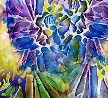 Flowering Crevice Imprint by Allison Ashton