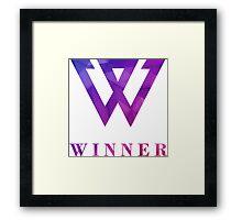 Winner Kpop Framed Print