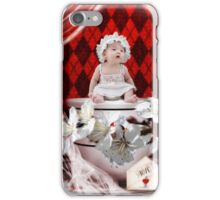 a teacup surprise iPhone Case/Skin