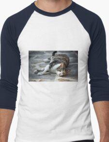 Cosy Kitten Men's Baseball ¾ T-Shirt
