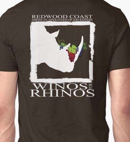 Winos for Rhinos Unisex T-Shirt