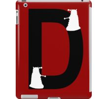 D is for Dalek iPad Case/Skin