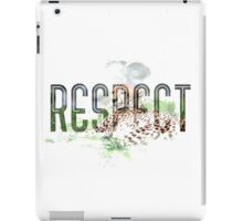 RESPECT Animals iPad Case/Skin