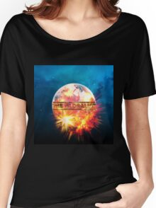 Muse - The globalist earth Women's Relaxed Fit T-Shirt