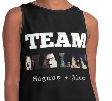 Team Malec (Magnus+Alec) Contrast Tank