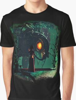 Bioshock Infinite Songbird & Elizabeth Graphic T-Shirt
