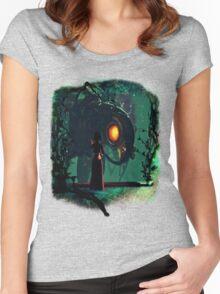 Bioshock Infinite Songbird & Elizabeth Women's Fitted Scoop T-Shirt
