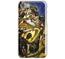 Chaim Soutine - Landscape At Cagnes  iPhone Case/Skin