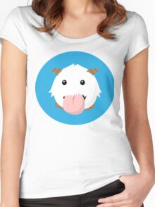 Cute Poro Vector- League Of Legends Women's Fitted Scoop T-Shirt