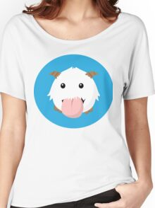 Cute Poro Vector- League Of Legends Women's Relaxed Fit T-Shirt