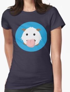 Cute Poro Vector- League Of Legends Womens Fitted T-Shirt