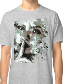 Cool Graphic Abstract Woman's Face Classic T-Shirt