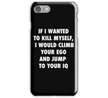 Climb and Jump iPhone Case/Skin