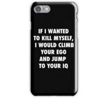Climb and Jump iPhone Case/Skin