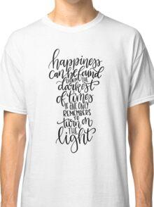 Harry Potter Quote - Albus Dumbledore  Classic T-Shirt