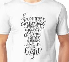 Harry Potter Quote - Albus Dumbledore  Unisex T-Shirt