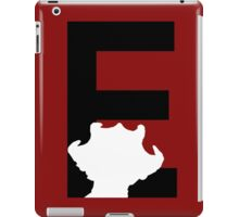 E is for Empress of the Racnoss iPad Case/Skin