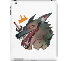 The Mad King iPad Case/Skin