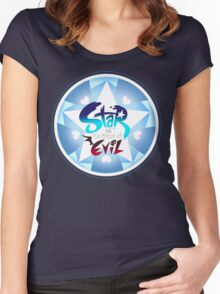 Star vs the forces of evil Logo Women's Fitted Scoop T-Shirt