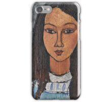 Amedeo Modigliani - Alice (About 1918)  iPhone Case/Skin