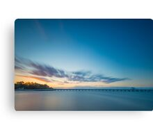 Shorncliffe Jetty Canvas Print