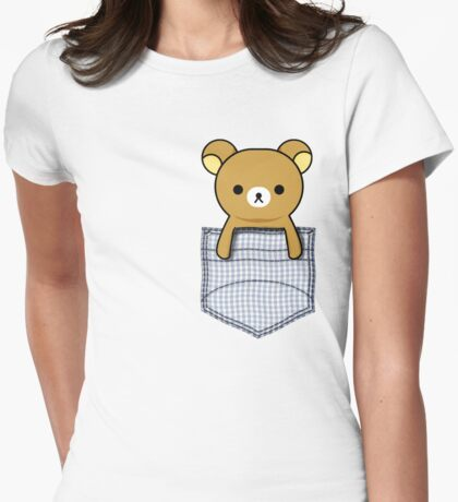 Rilakkuma Womens Fitted T-Shirt
