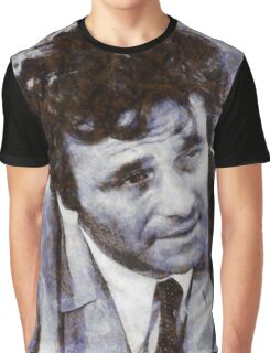 Peter Falk Columbo Graphic T-Shirt