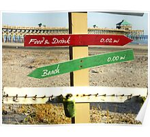To the Beach by Jan Marvin Poster