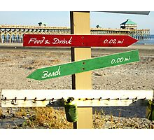 To the Beach by Jan Marvin Photographic Print