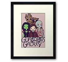 Guardians of the Galaxy Framed Print