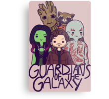 Guardians of the Galaxy Metal Print