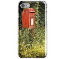 English Royal Mail postbox iPhone Case/Skin