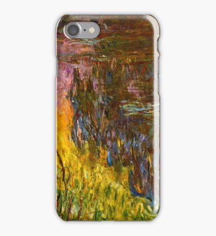 Claude Monet - The Water Lilies - Setting Sun (1915 - 1926)  iPhone Case/Skin
