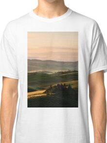 Sunrise in Val d'Orcia, Tuscany Classic T-Shirt