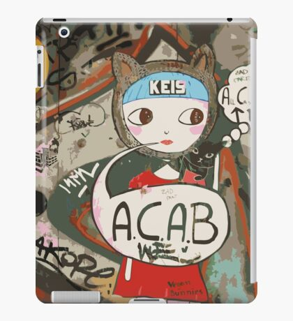 Barcelona's Graffiti iPad Case/Skin