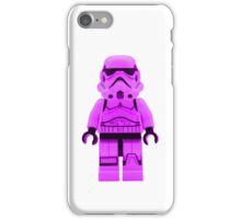 Lego Storm Trooper in Purple iPhone Case/Skin