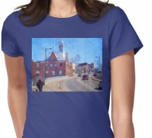 Downtown Womens Fitted T-Shirt