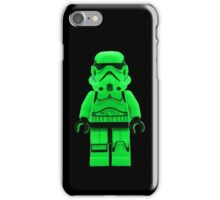 Luminous Green Lego Storm Trooper iPhone Case/Skin
