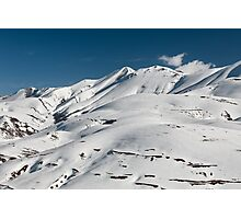 Top of the Redentore in the Sibillini Mountains Photographic Print
