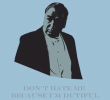 Don't Hate Dutiful Carson Kids Tee
