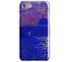 Claude Monet - Waterloo Bridge, Sunlight Effect ( 1900 (dated 1903))  iPhone Case/Skin