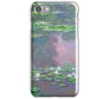 Claude Monet - Water Lilies 9 iPhone Case/Skin