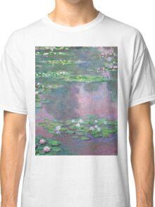 Claude Monet - Water Lilies 9 Classic T-Shirt