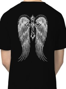 Cross with wings Classic T-Shirt