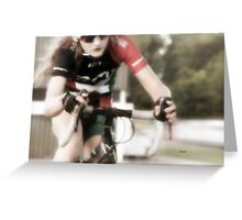 Beauty and the Bike  Greeting Card