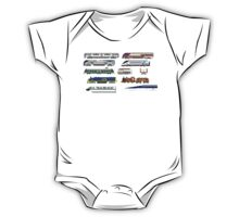 Railway Vehicles - The Kids' Picture Show - 8-Bit Trains One Piece - Short Sleeve