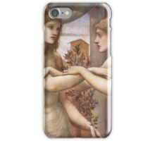 Edward Burne Jones - Pygmalion And The Image The Godhead Fires 1878  iPhone Case/Skin