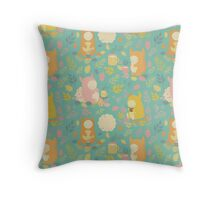 Fairytale Pattern2 Throw Pillow